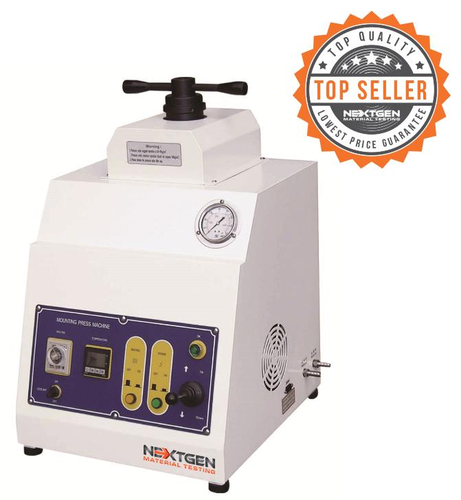 GenPress MSA Series - Semi Automatic Mounting Press for Metallographic Sample Preparation