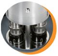 GenGrind SA-I Series - Individual Control Semi-Automatic Metallographic Polisher and Grinder Equipment for Metallographic Sample Preparation