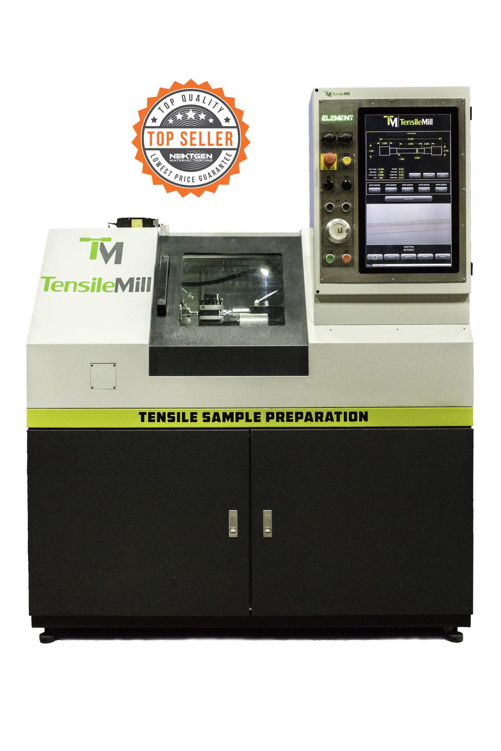 TensileTurn CNC - Round Tensile Sample Preparation