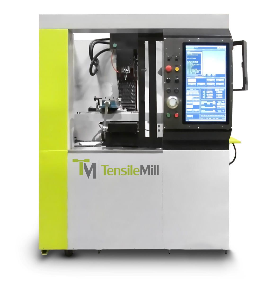 TensileMill CNC - Flat Specimen Preparation